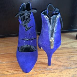 Purple/blue heels